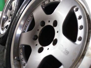 Шины для грузовиков - Кыргызстан: Литые R16 диски и шины Suzuki, УАЗ, Нива (5х139,7)Диски и шины в