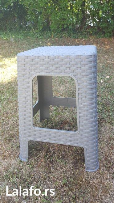 Plasticna stolica. Zgodna za baste i terase. - Beograd