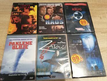 9285 oglasa: Komplet od 6 original cd-ova. Razni filmovi. Komplet sadrži 6cd mogu
