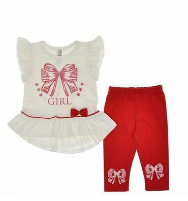 платья со штанами узбекские в Кыргызстан: Комплект для девочкиПроизводство Турция, 100%хлопокРазмеры от 2-6