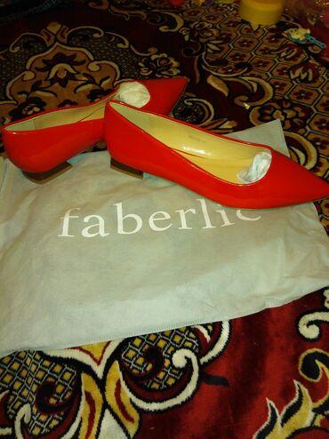 Туфли от Фаберлик, новые лакированные, не подошли по размеру, размер 4
