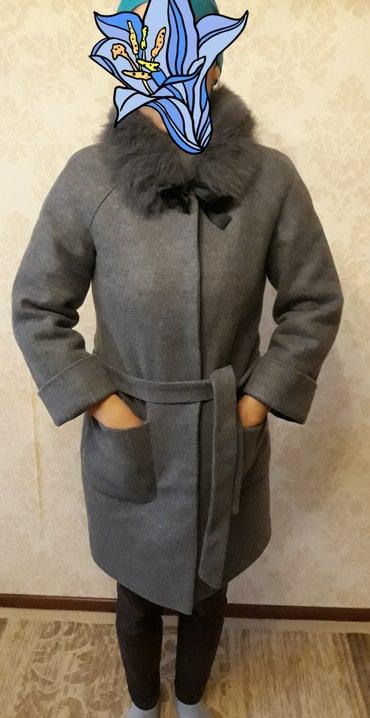 Пальто, почти новое! Воротник снимается,на 44-46размер в Бишкек