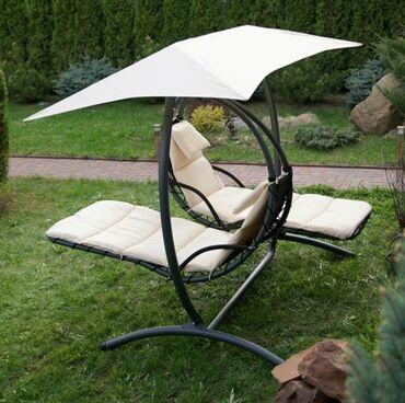 Садовая мебель в Душанбе: Шезлонги для двоих. Отличное качество быстрая доставка