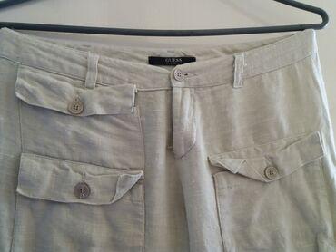 Lanene pantalone - Srbija: Guess lanene pantalone. vel 36-38 i ako piše 40. imaju malo