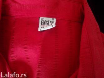 Parka rukavi - Srbija: Prodajem crvenu košulju, L veličine, proizvedeno u Turskoj. Nošena par