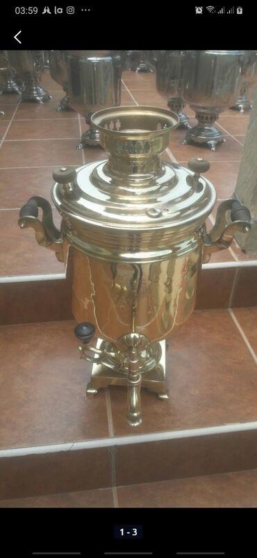 somavar - Azərbaycan: Qədimi rus 7 litr ağır somavar 210azn