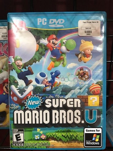Pc igra new super mario bros (2012) - Beograd
