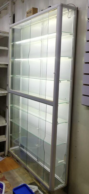 органайзер для косметики бишкек in Кыргызстан   КОСМЕТИКА: Продаю витрину с подсветкой  Длина 1,8м (примерно) Ширина 1,1м Цена вк