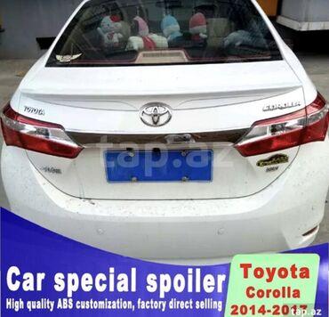 kredit toyota corolla - Azərbaycan: Toyota Corolla arxa spoyler