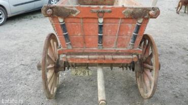 Volovska kola stara vise od 100god. - Petrovac na Mlavi