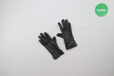 Аксессуары - Киев: Жіночі шкіряні рукавички Karbini    Довжина: 22 см Ширина: 8 см  Стан