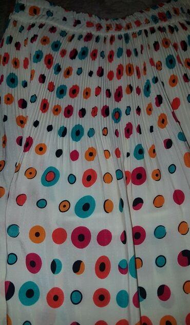 Svileni suknja - Srbija: Prelepa plisirana suknja zaista divnog materijala poput svilenog