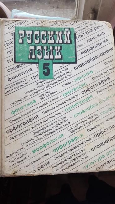 учитель русского языка и литературы в Кыргызстан: Русский язык 5 класс