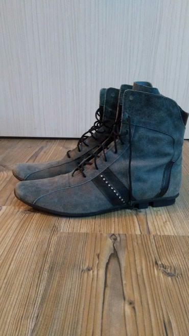 Ženska obuća | Sremska Kamenica: Zenske cizme, vel 39, jednom obucene, udobne, nigde