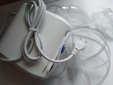 Ингаляторы, небулайзеры - Кыргызстан: Небулайзер ингалятор японский марки Omron.Продаю в отличном рабочем