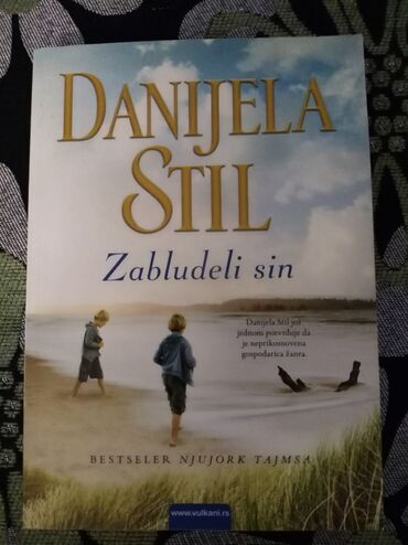 Sport i hobi - Mladenovac: Zabludeli sin -Danijela Stil, novanekoriscena knjigaTrilerFormat
