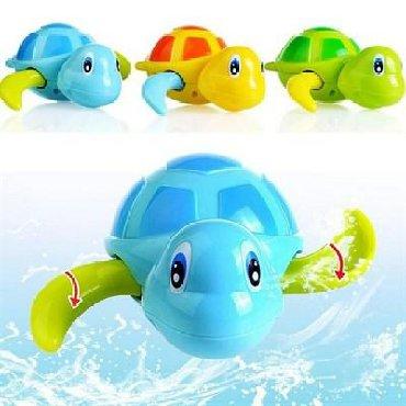 Заводные плавающие черепашки для игр в ванне - припасет для вас ответ