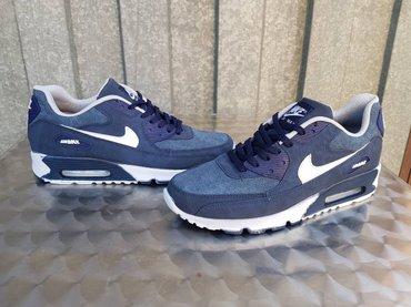 Nike air max 90-kozne-plavo-bele-br. 40-44-novo-prelepe# - Nis
