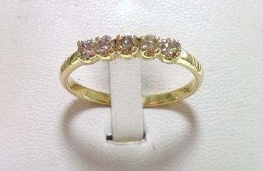 Золотое кольцо с бриллиантами, в Бишкек