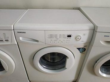 стиральную машинку samsung в Кыргызстан: Фронтальная Автоматическая Стиральная Машина Samsung 6 кг