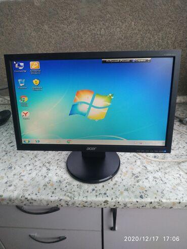 проекторы 640x480 с wi fi в Кыргызстан: Монитор Aser 19 размер широкоформатный в отличном рабочем новом