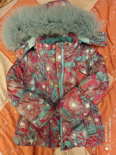 Находки, отдам даром - Кыргызстан: Отдам куртку для девочки 3-4 лет за два пакета молока. Асанбай