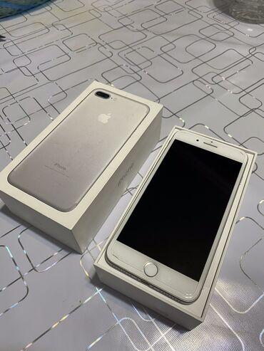 Apple Iphone - Бишкек: Б/У iPhone 7 Plus 32 ГБ Белый