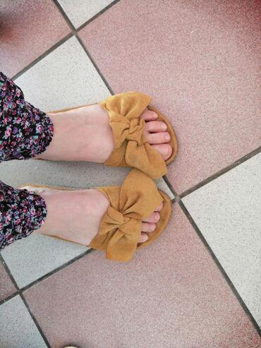 Papuce nose par puta proslog leta, lepe i udobne ali ne u mom fazonu