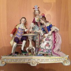Bakı şəhərində Alman Figurlari, Немецкие фигуры порцелан ,porzelan , sachsi Figurlar