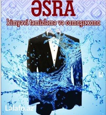 kimyevi temizleme avadanliqlari - Azərbaycan: ƏSRA Kimyevi Quru temizleme ve camasirxana
