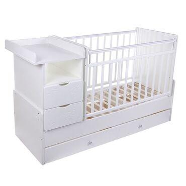 Детский мир - Новопокровка: Б/у точно такая же кровать,как на картине