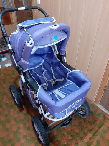 3510 объявлений: Продаётся коляска,в хорошем состоянии, зима-лето,куплена в России
