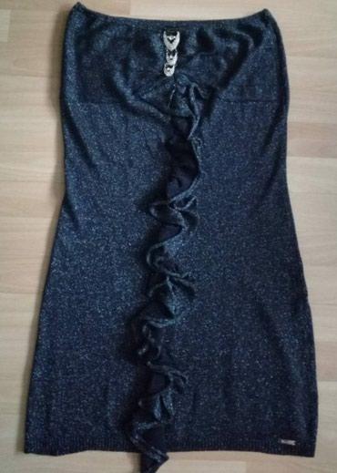 AKCIJA!!! teget haljina sa lameom, duzina 75cm, obim grudi 80cm. - Belgrade