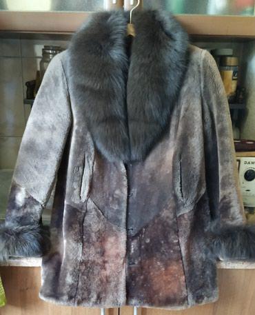 Полушубок цигейка, 48 размер, окрас в Бишкек