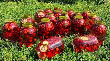 доставка продуктов питания на дом бишкек в Кыргызстан: Продаю компоты домашнего изготовления в 3-х литровых банках. Гарантия