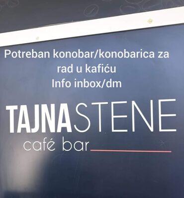 Konobarica - Srbija: Konobar. Iskusan. Promenljiva smena