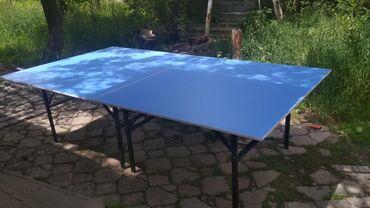 Теннисные столы   складные ножки, продажа, аренда(в полном комплекте)