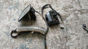 Левое зеркало на Хонду Эдикс (Honda Edix). Сломался корпус, зеркало