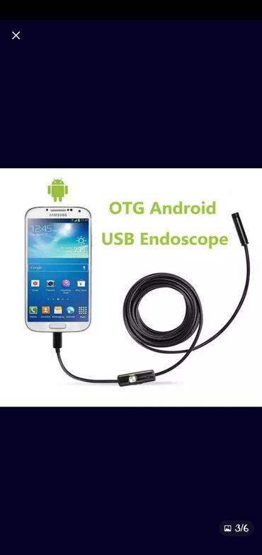 Объектив USB эндоскоп камера водонепроницаемый провод змеиная трубка