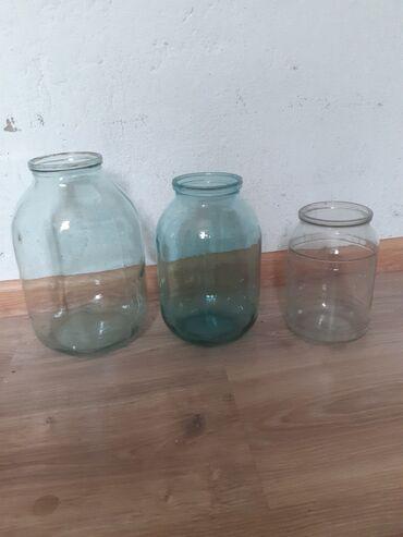стеклянные банки бишкек in Кыргызстан | ДРУГАЯ ПОСУДА: Стеклянные банки разные3 литр 35 сом есть 30 шт2 литр 30 сом есть 10