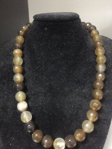 Jewellery Sets - Srbija: Ahat ogrlica