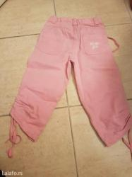 Prolece leto - Srbija: No-no prolecne-letnje pantalone za devojcice broj 2. Ciguju se sa