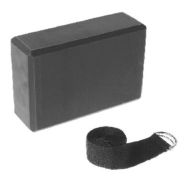 Кирпичики (Блоки) для Йоги и растяжки Черного цвета. В подарок идет