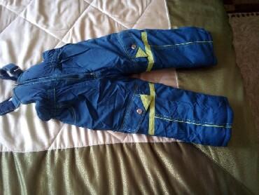 теплая зимняя кофта в Кыргызстан: Продаю детскую зимнюю куртку с комбинезоном. Состояние отличное. Очень