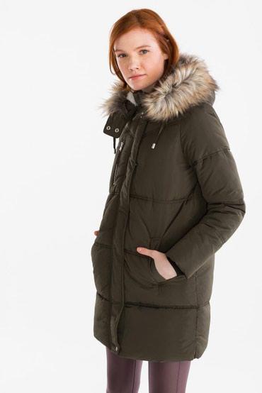 Зимняя куртка 34 размера, цвет ЧЕРНЫЙ В капюшоне искусственная овчина в Бишкек