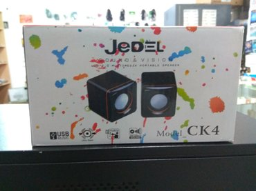 Bakı şəhərində Jedel ck4 usb 2. 0 multimedia portable speaker yenidir.