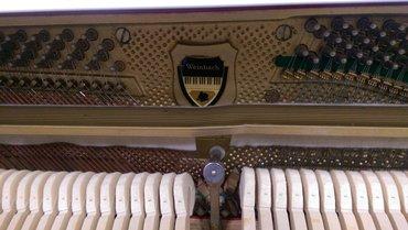 Bakı şəhərində Pianino Weinbach - Çexiya istehsalı, ideal mexanizm ve seslenme,- şəkil 4