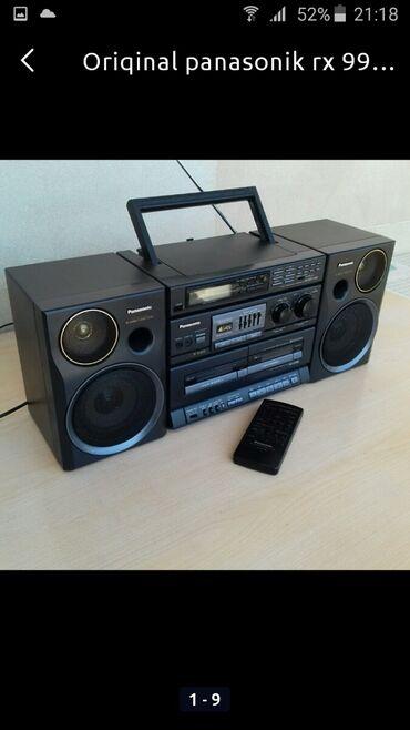 музыкальный центр panasonic в Азербайджан: Zavodskoy Panasonic rx-st 990 əla işlək vəziyyətdə yapon istehsalı