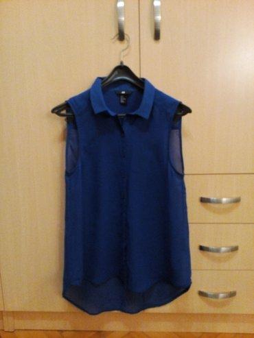 Kraljevsko plava h&m košulja  jako prijatnog materijala u - Nis