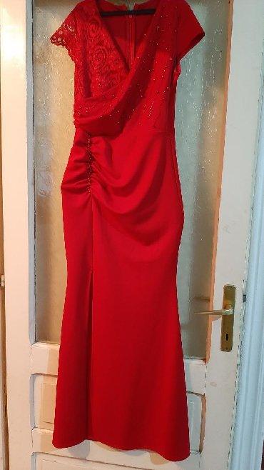 Ženska odeća | Vladicin Han: Svecana haljina br 38 poliester 93% i elastan 7% jednom obucena